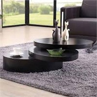 OVAL ROTATING COFFEE TABLE
