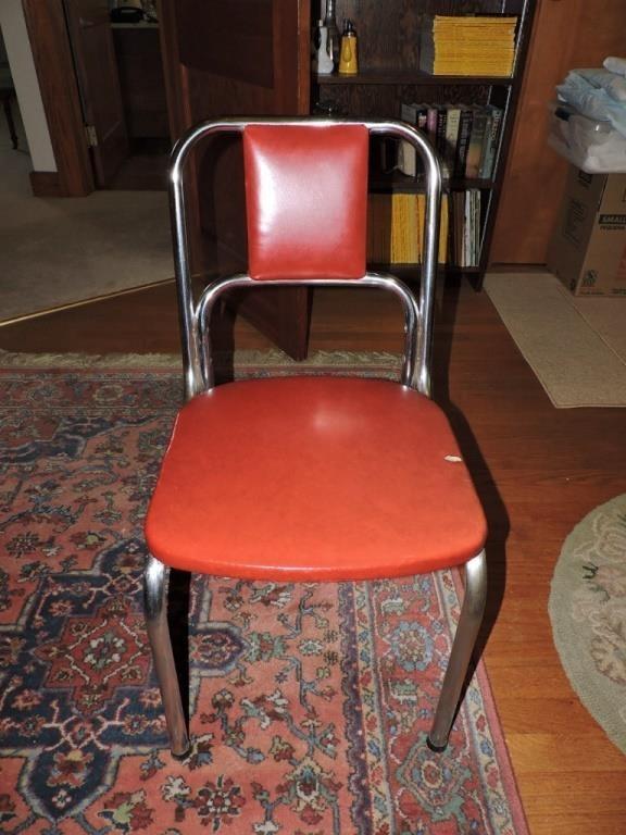 Vintage Duro Chrome Kitchen Chair | Manger Auctions & Estate ...