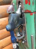 Sinclair Dino gas pump 24x18x73