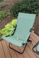 Peachy Summer Winds Canvas Folding Patio Chair Epic Auctions And Creativecarmelina Interior Chair Design Creativecarmelinacom