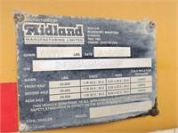 2010 Midland MG40TC3000 40' Tridem Clam Dump