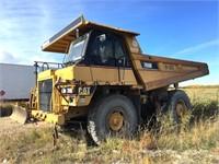 2001 Cat 769D Rock Truck