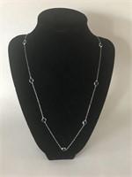 Beautiful Silver/Gemstone Necklace
