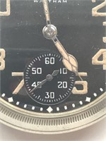 Waltham Pocketwatch WWII Military