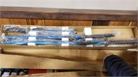 Four SETS of 4 Japanese swords w/ Stands