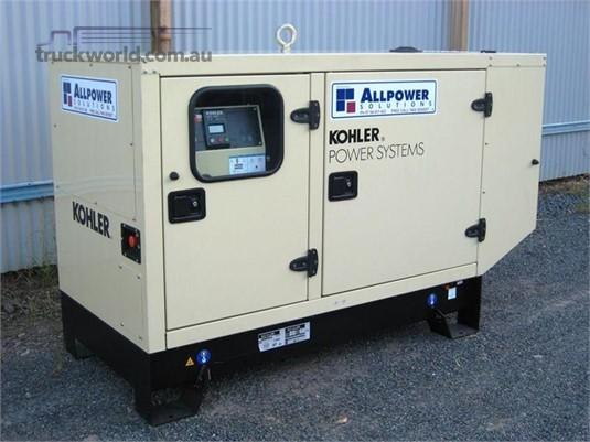 0 Kohler 30 KVA - Heavy Machinery for Sale