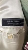 Luciano Carreli wool and cashmere 2pc suit with