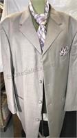 Lazetti Men's 2pc suit with tie