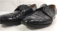 M Collection Italy Alligator Shoes Size 9 with