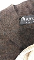 Lot of 3 men's Tuscan Made in Italy Lightweight