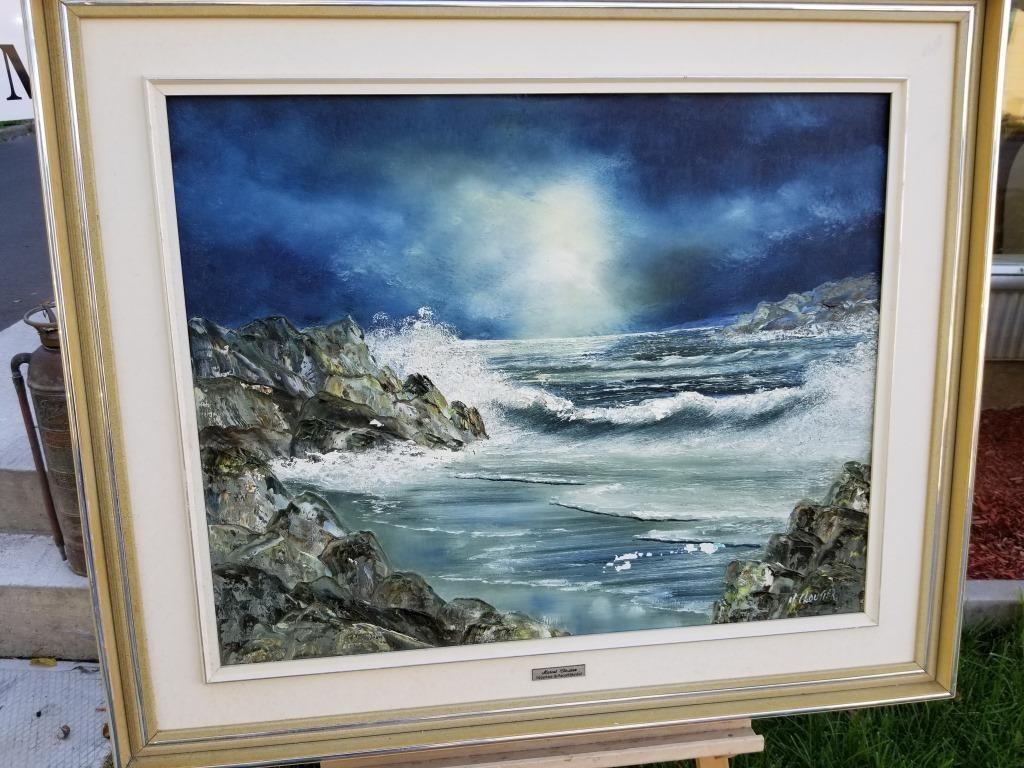 Quote Des Artistes Peintres peinture originale de marcel cloutier | hibid auctions | quebec