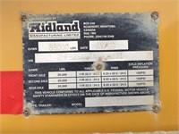 2009 Midland Tridem Clam Dump Trailer