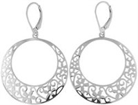 Very Nice Circle Dangle Earrings