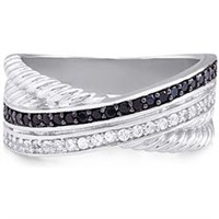 Gorgeous Sterling Silver Ring with CZ