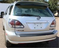 2001 Lexus RX300 Silversport | Linnebur Auctions, Inc