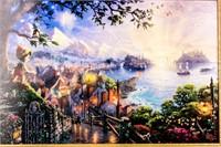 """Art Disney """"Pinocchio Wishes"""" Thomas Kinkade COA"""