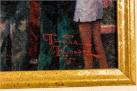 "Art Disney ""50th Anniversary"" Thomas Kinkade  COA"