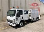 2011 Isuzu NQR 450 Crew Premium Crane Truck