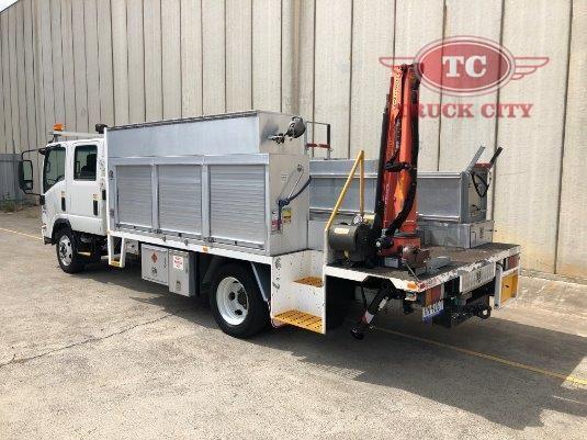 2011 Isuzu NQR 450 Crew Premium Crane Truck - Truck City