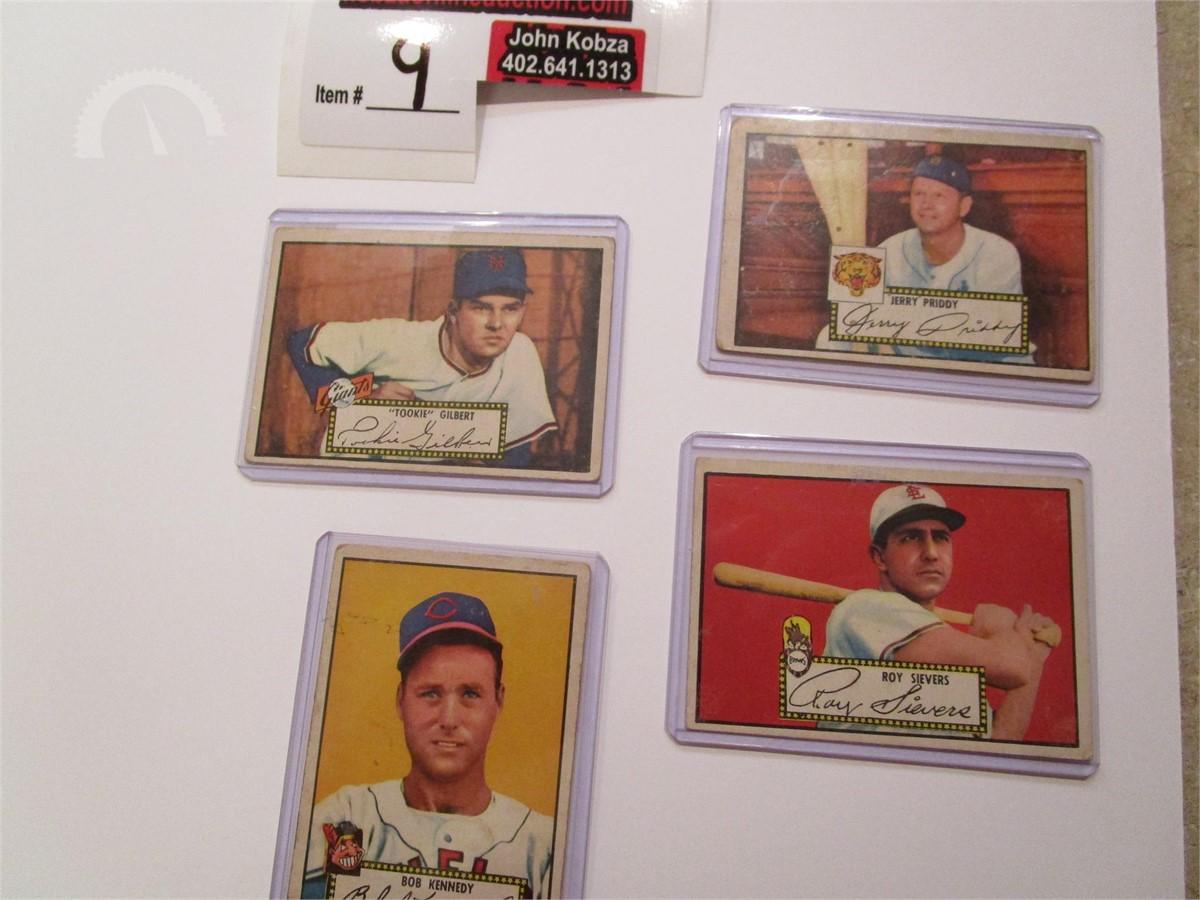 1952 Baseball Cards 1950s