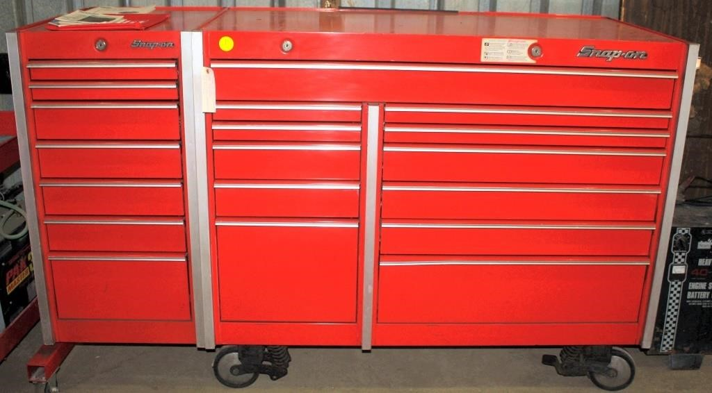 Snap On Tool Box On Castors Linnebur Auctions Inc