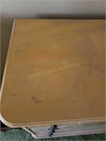 Vintage yellow 6 drawer dresser