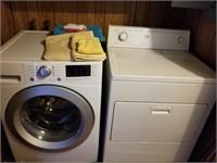 Kenmore frontload washer & dryer