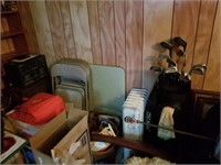 card table w/ chairs