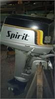 Spirit 9.9 HP outboard motor