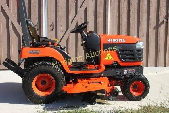 4 Lots | Tractors - Kubota & Ford - Land Pride Rotary Tiller
