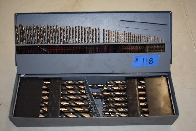 Huot Tap Drill Index Set Schweitzer Auction Service