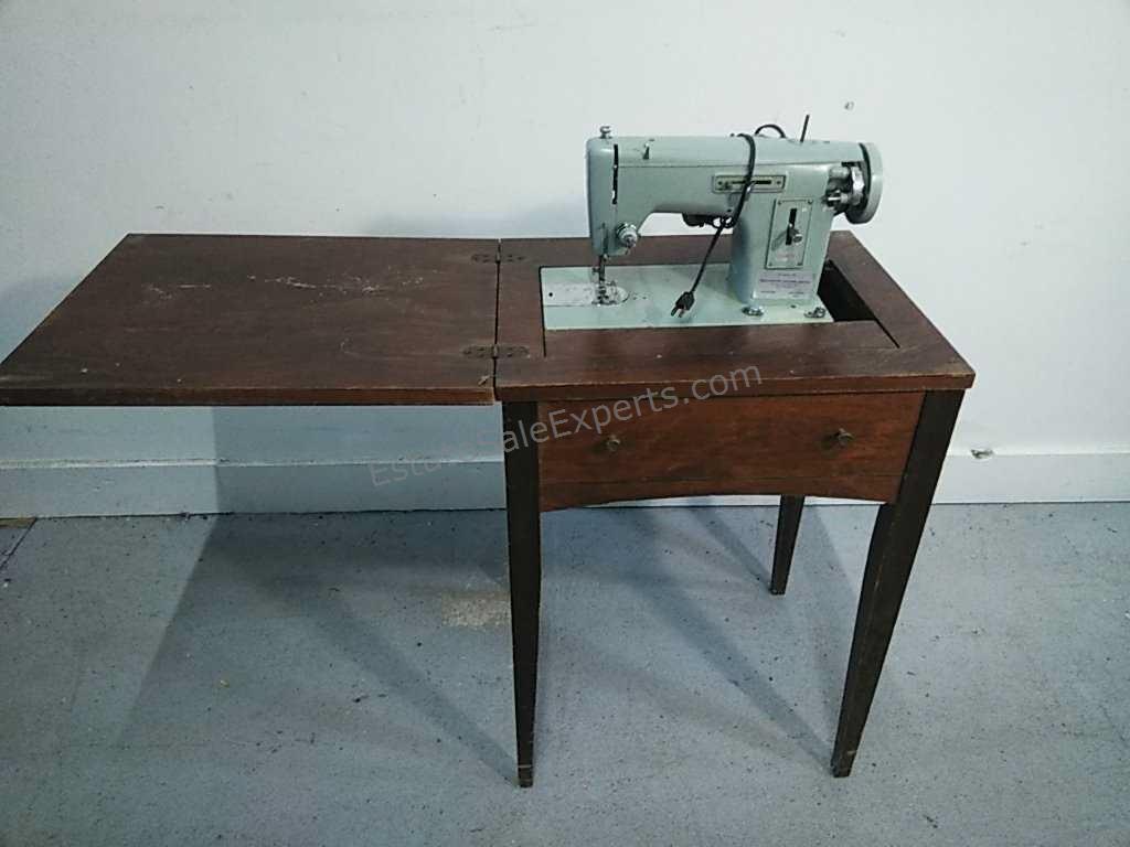 Kenmore Sewing Machine Cabinet Vintage