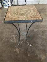 table with stone top