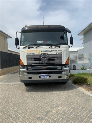2008 Hino 700 Series FY - Trucks for Sale