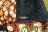 Historic Stroock plush mohair carriage blanket (2)