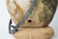 Moroccan jug with woven handle