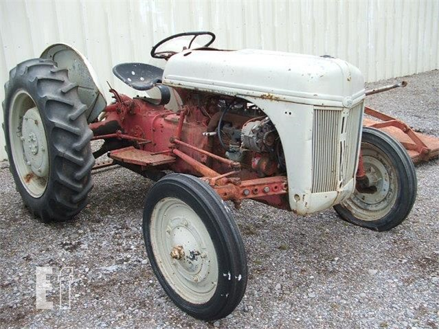 9n Ford Tractor >> Lot 3104 Ford 9n For Sale In Meno Oklahoma