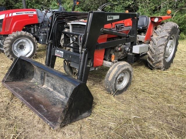 Massey Ferguson 255 diesel tractor, Kelley DL3000 | Kraft