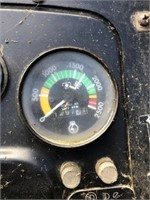 Massey Ferguson 255 diesel tractor, Kelley DL3000 | Kraft Auction