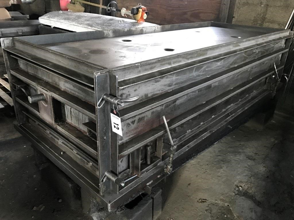 Standard Burial Vault Form w/ top seal lid form | Ken Geyer