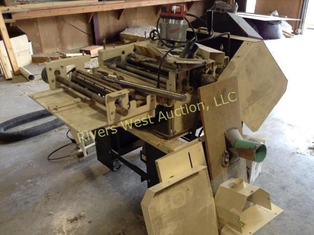 1Woodmaster Tools W-725 Wood Molding Machine | Rivers West Auction, LLC