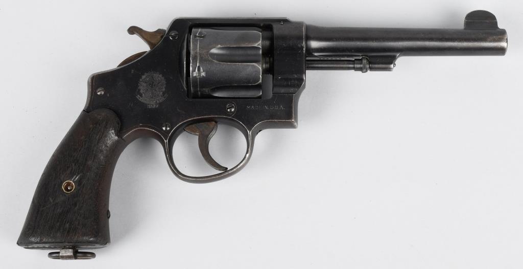 SMITH & WESSON MODEL 1917,  45 REVOLVER | Milestone Auctions