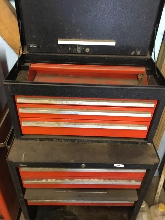 Jcpenney Tool Box Green Auction