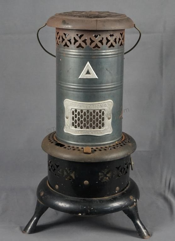 Perfection No 510 Oil Heater Antique