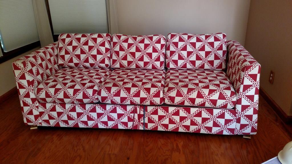 Fabulous Kroehler Couch Midland Bid Junkies Creativecarmelina Interior Chair Design Creativecarmelinacom