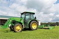 FARM EQUIPMENT-JOHN DEERE-50+FIREARMS-TOOLS
