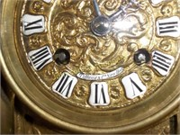 Tiffany & Co. Brass Mantel Clock