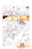 Marc-Renier. Planche originale Klimt