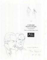 Ted Benoit. Dessin original non nominatif
