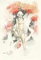 Lupattelli. Illustration originale Izuna